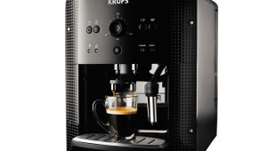 Espressor Krups Espresseria Automatic EA8108, 1.6L, 15 bari, Negru