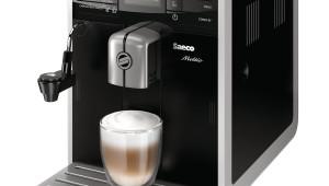 Espressor automat Philips Saeco Moltio HD8768/09, Dispozitiv spumare, Functie Cappuccino, Rasnita ceramica, Autocuratare, 15 Bar, 1.9 l, Negru