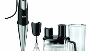Mixer vertical Braun MQ 775 Patisserie, 750 W, 0.5 l, Bol 1.5 l, Smart speed, Functie turbo, Negru/Inox