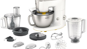 Robot de bucatarie Philips Avance Collection HR7954/00, 900 W, 7 viteze + Functie Puls, 1.25 l Blender, 4 l Bol, 1.5 l Tocator, Alb
