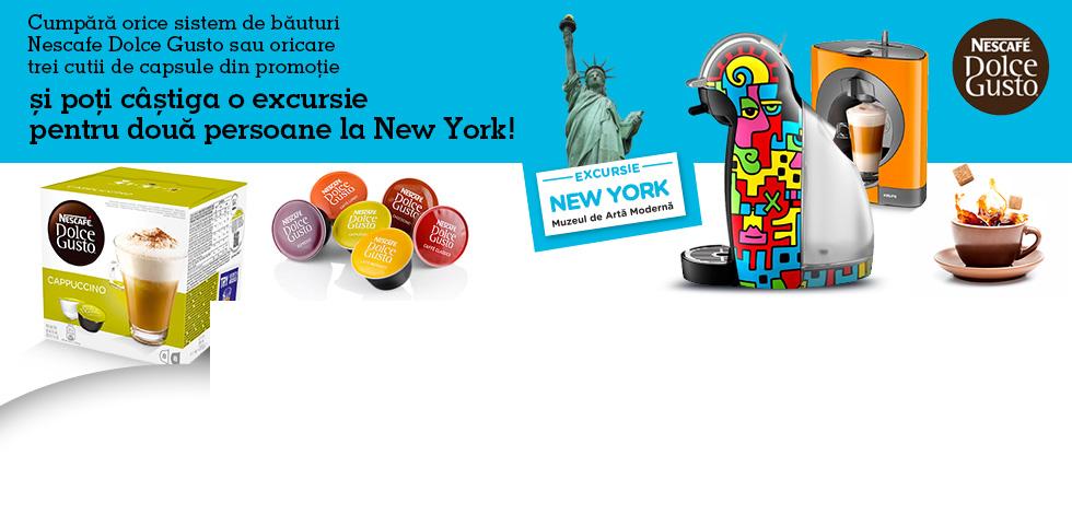 Castiga excursie la New York