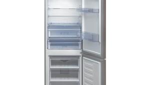 Combina frigorifica Beko RCNA400E20ZX, 354 l, Clasa A+, Neo Frost, H 201, Inox Antiamprenta