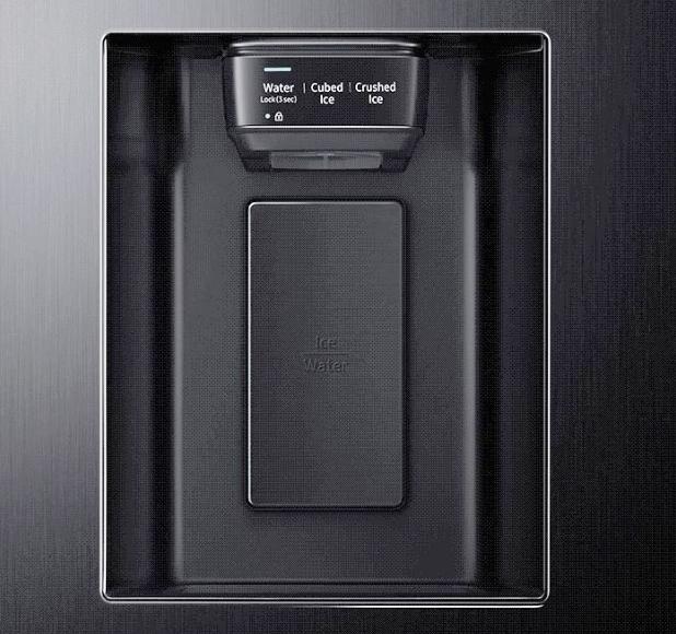 Samsung RS67N8210S9EF dozator cuburi gheata si apa
