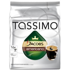 Capsule Jacobs Tassimo Americano, 16 Capsule, 144 g