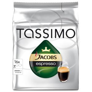 Capsule Jacobs Tassimo Espresso, 16 Capsule, 118.4 g