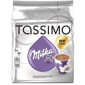 Capsule Jacobs Tassimo Milka, Ciocolata calda, 8 Capsule, 240 g