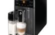 Espressor automat Philips Saeco Gran Baristo HD8964/01, Dispozitiv spumare, Functie Cappuccino, Rasnita ceramica, Autocuratare, 15 Bar, 1.7 l, Carafa lapte 0.5 l, Negru