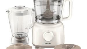 Robot de bucatarie Philips HR762800, 650 W, 1 l blender, 1.5 l bol, Alb
