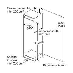 Bosch KIS87AF30 schema de instalare