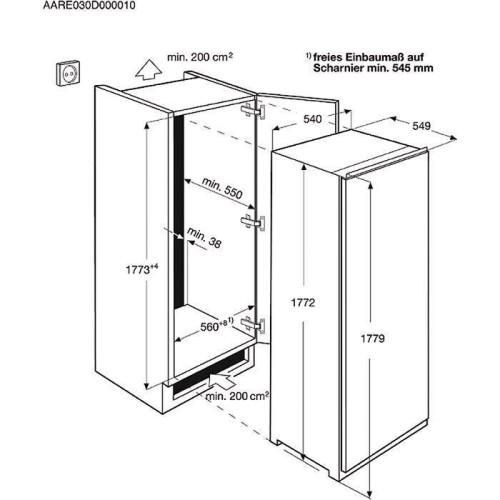schema montaj Electrolux ERN3211AOW