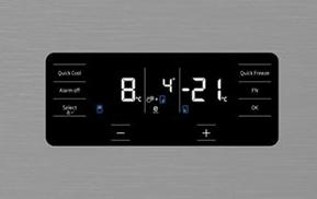 Beko GN1416221XP display