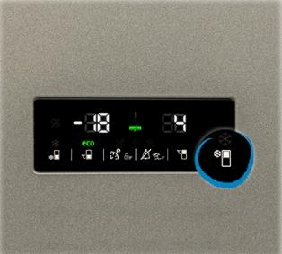 Beko RCNA366E30ZXR display temperatura combina frigorifica neofrost