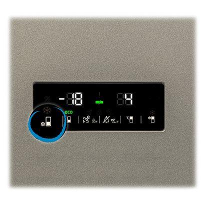 Beko RCNA400E30ZXP display modificare temperatura touch