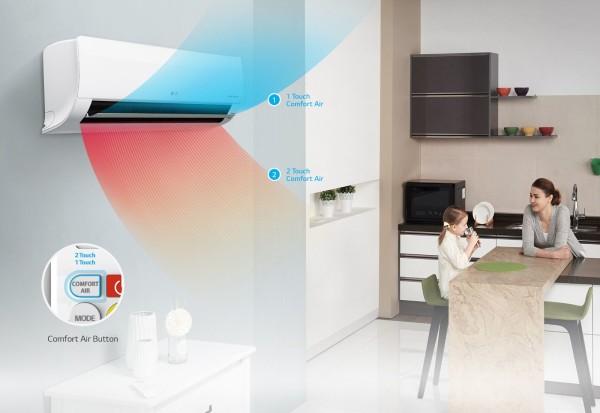 LG S12EQ comfort air