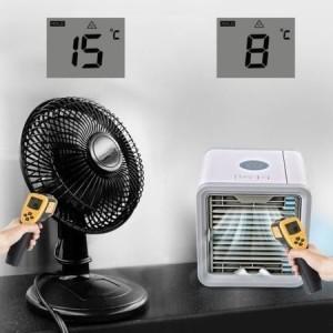 Ventilator portabil, USB, Lumina ambientala Arctic Air review pret pareri