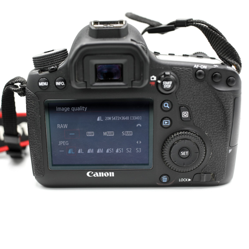 display canon 6d