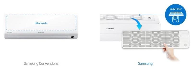 Samsung Triangle AR12RXWSAURNEU filtru lavabil
